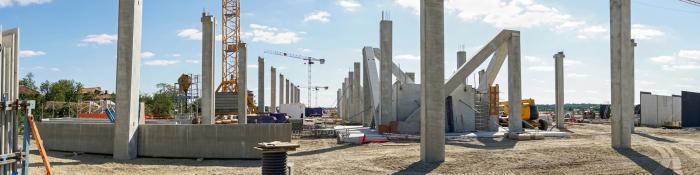 Baustelle Hochbau
