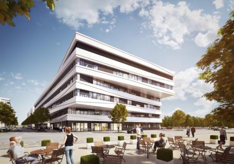 SkyAngle, Bahnstadt Heidelberg © Fischer Architekten, Mannheim