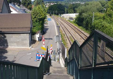 Bild Kanalerneuerung mit Unterquerung der DB-Strecke 4110 Heidelberg - Mosbach